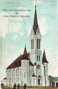 Kostel – rok 1903