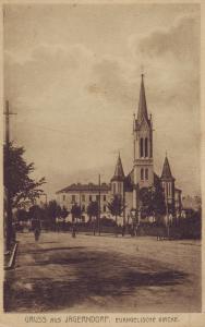 Kostel – rok 1930