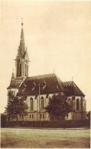 Kostel - rok asi 1940