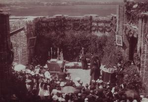 Slavnost položení základního kamene 28.6. 1901
