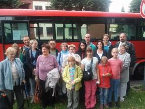 Účastníci zájezdu do Ratiboře, září